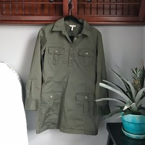 Old Navy Olive Green Army Dress Medium